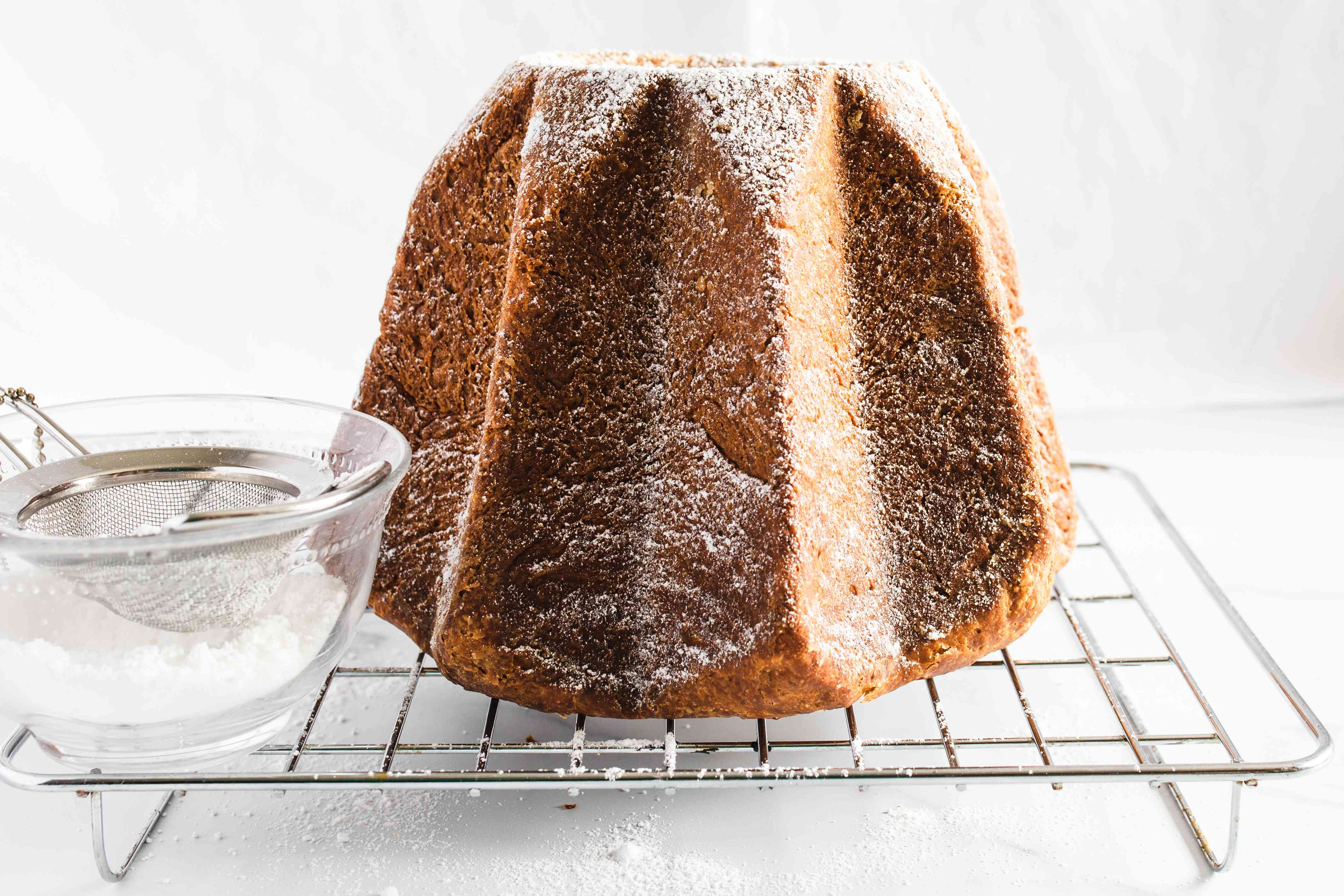 Dust with confectioners' sugar