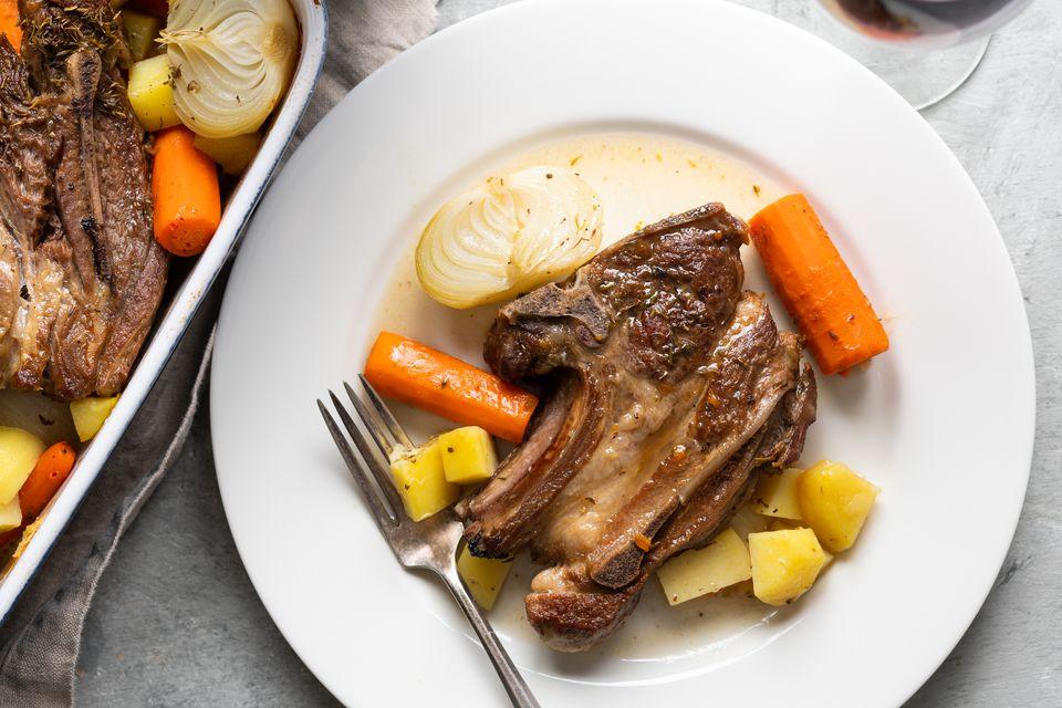 Lamb Chop Casserole