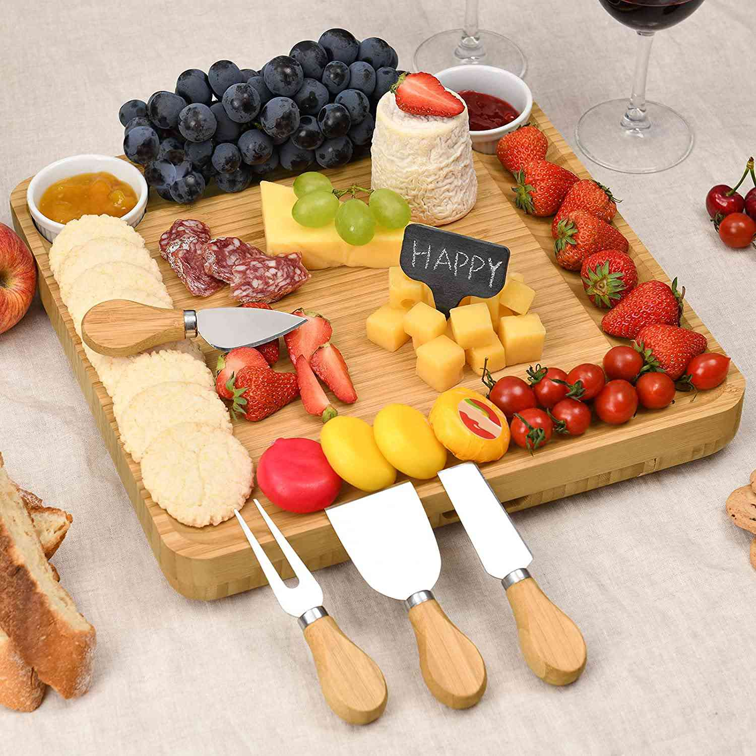 CTFT Cheese Board and Knife Set
