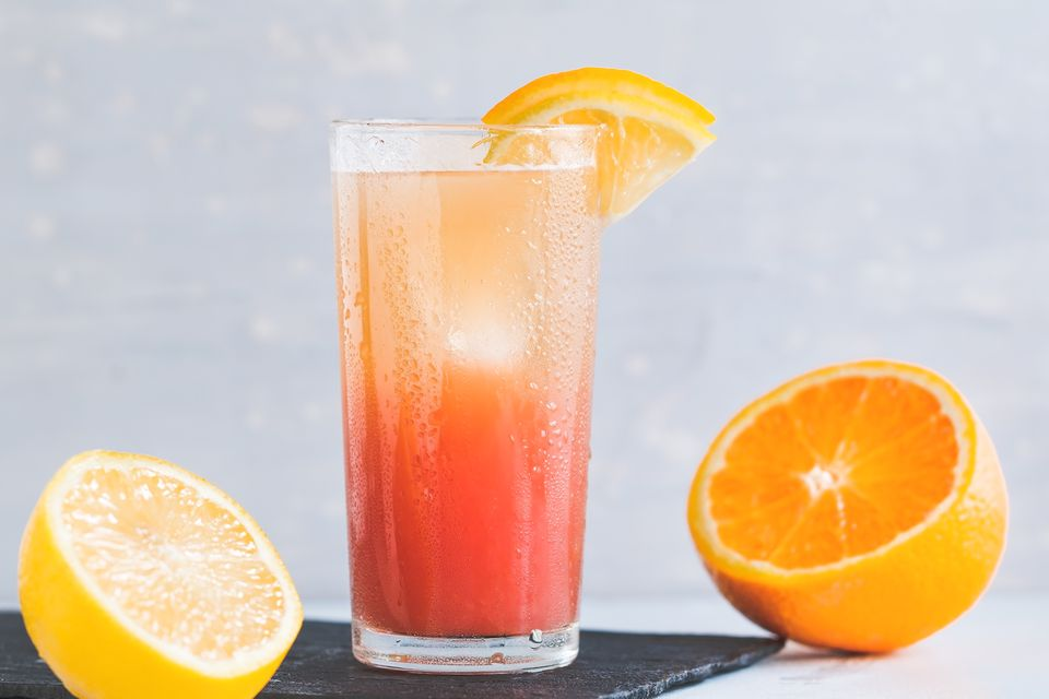 Cardinal Punch Nonalcoholic Drink