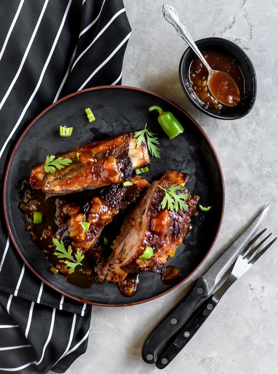 Sticky BBQ Beef Ribs Recipe