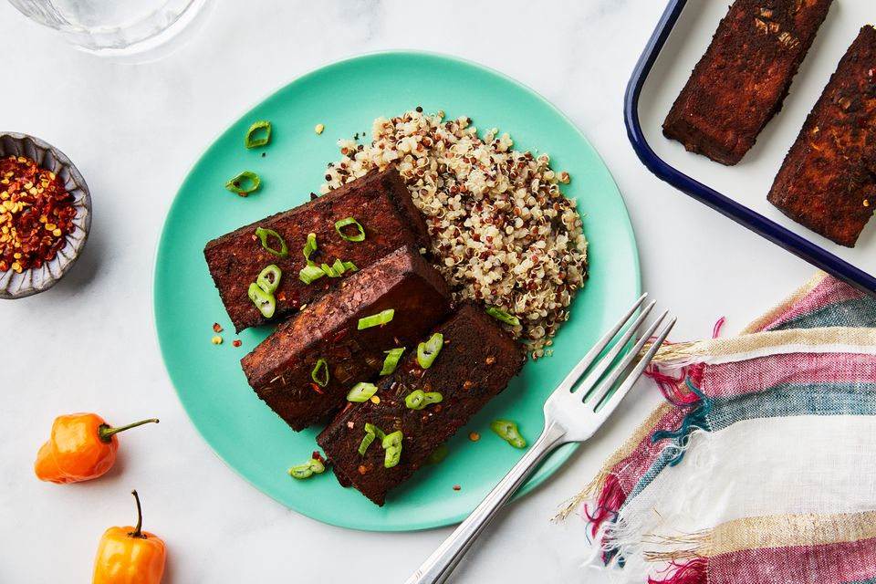Jamaican jerk tofu recipe