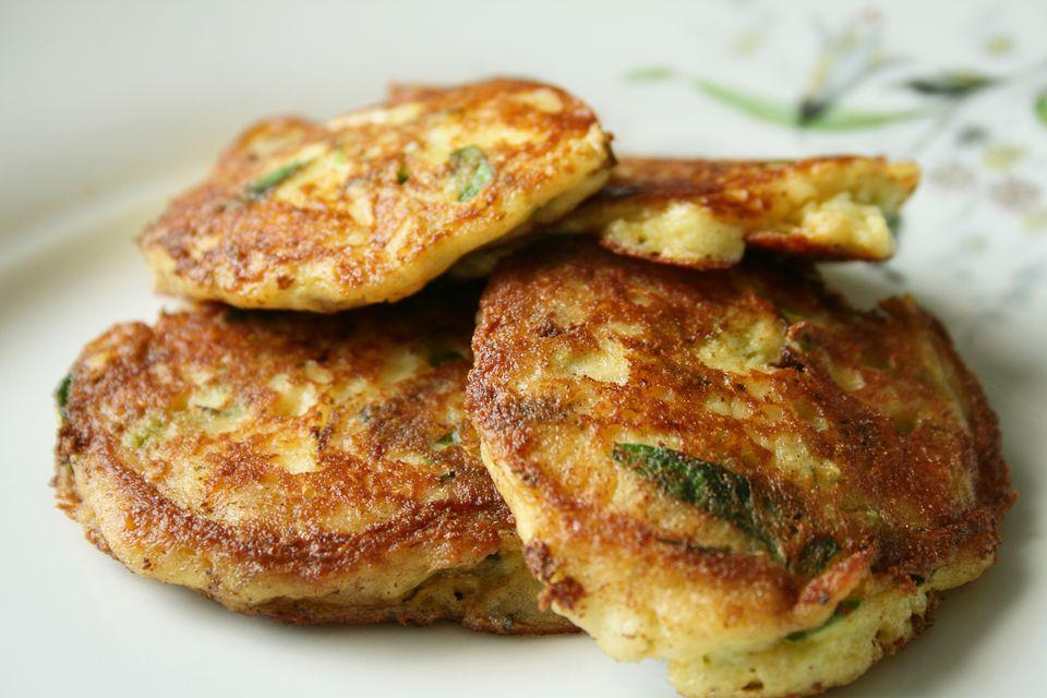 kartoffelpuffer- potato pancakes