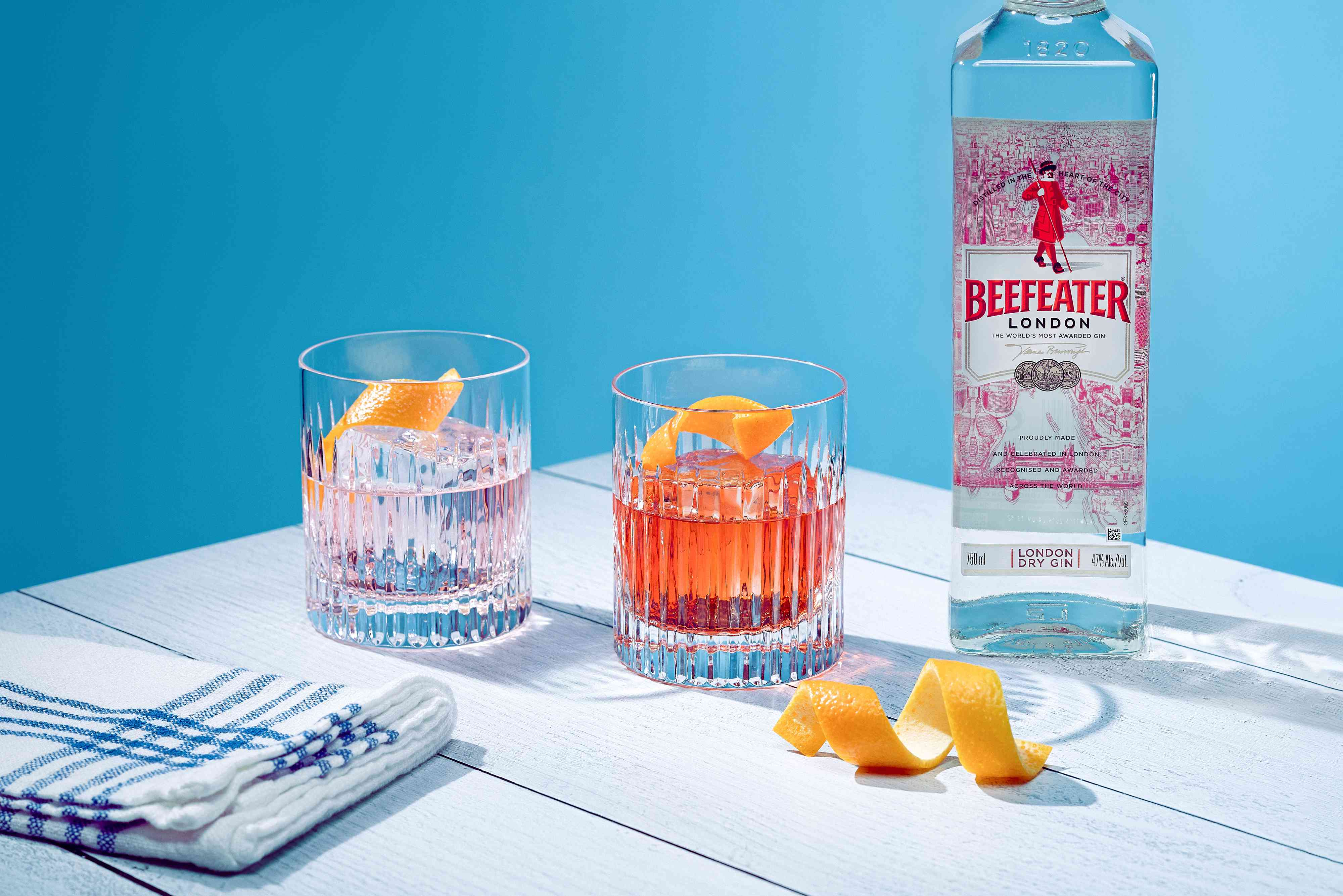 Beefeater London Dry Gin Negroni Cocktail