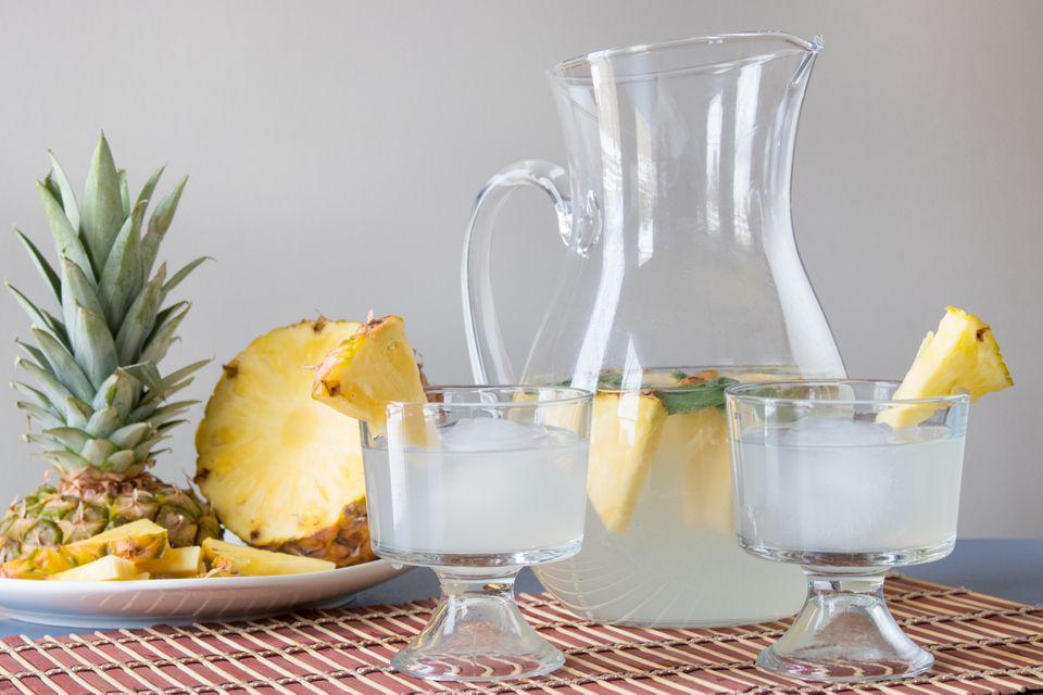 Pineapple Sage Gimlet Punch