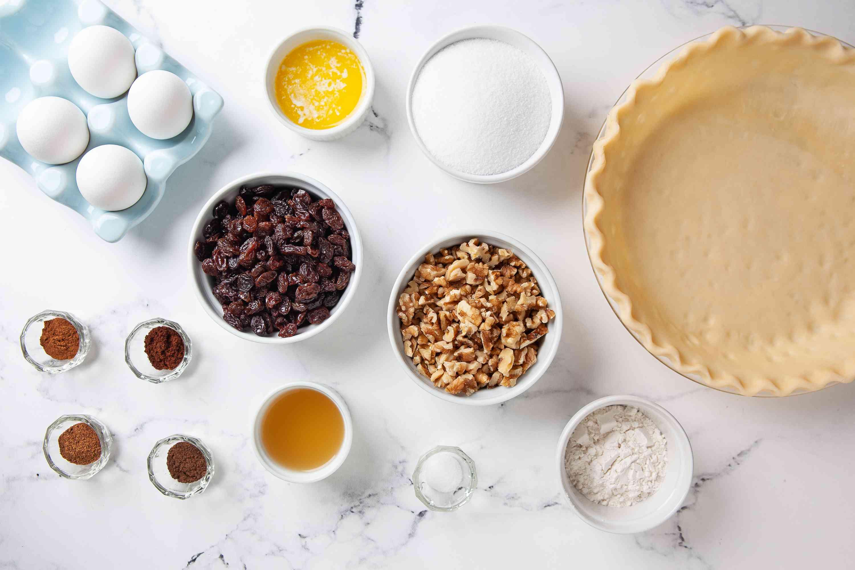 Ingredients for Vinegar Pie