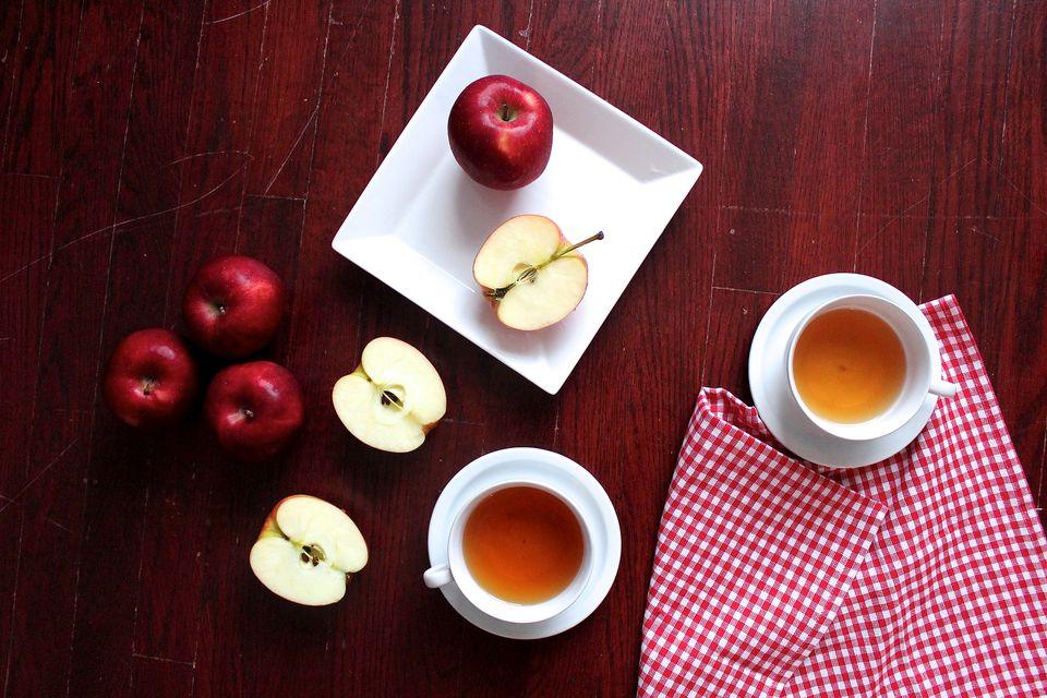 Té de manzana y jengibre: una bebida aromática y calmante