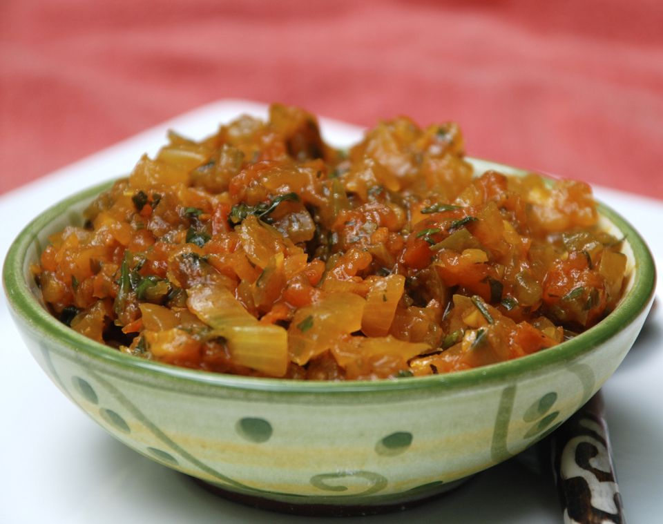 Hogao - Colombian tomato and onion salsa