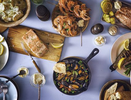 A Spread of Seafood