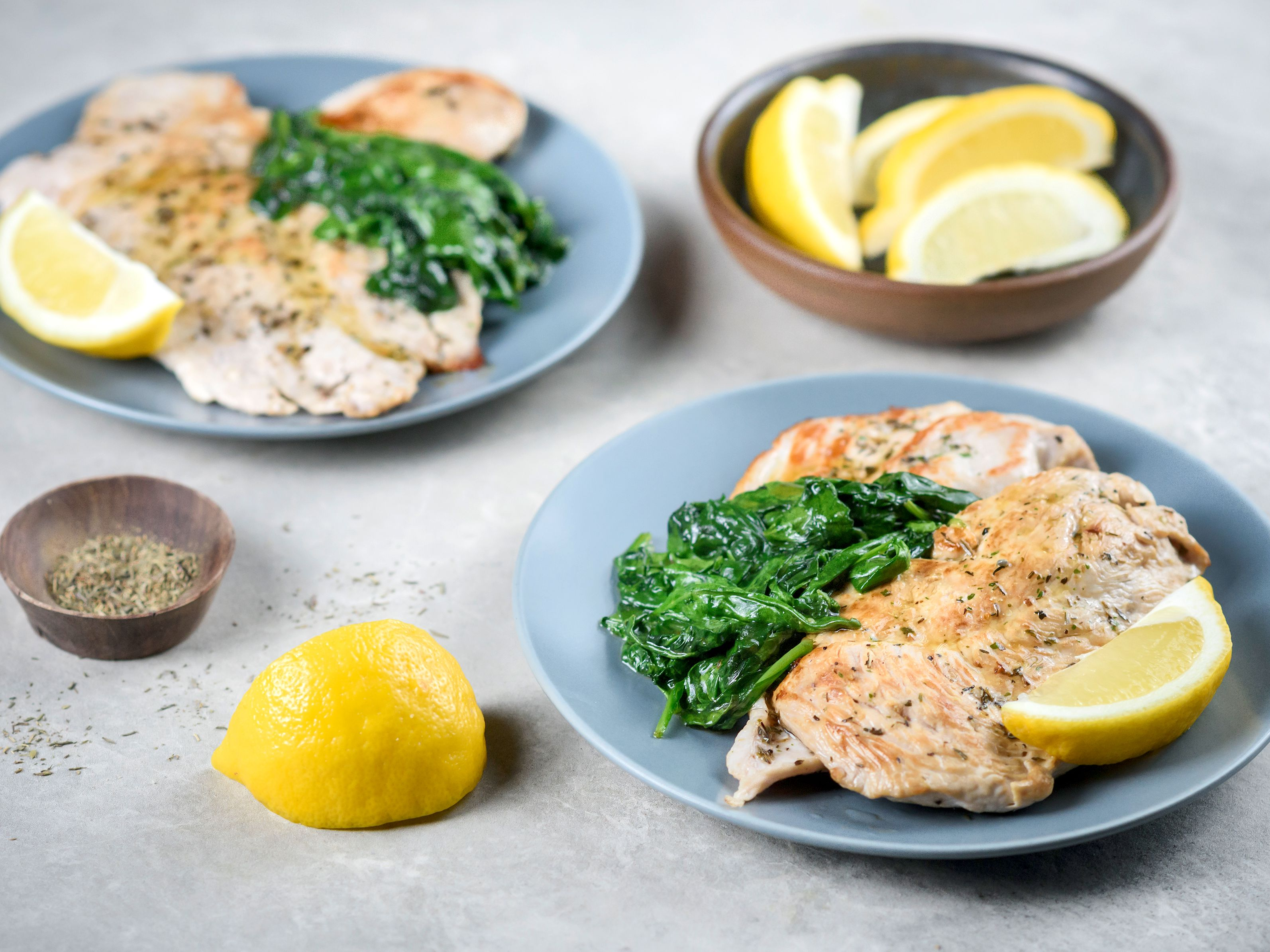 Pan-Seared Turkey Breast With Lemon and Herbs