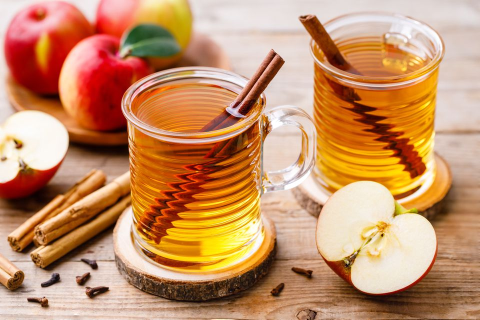 Simple hot spiced cider recipe