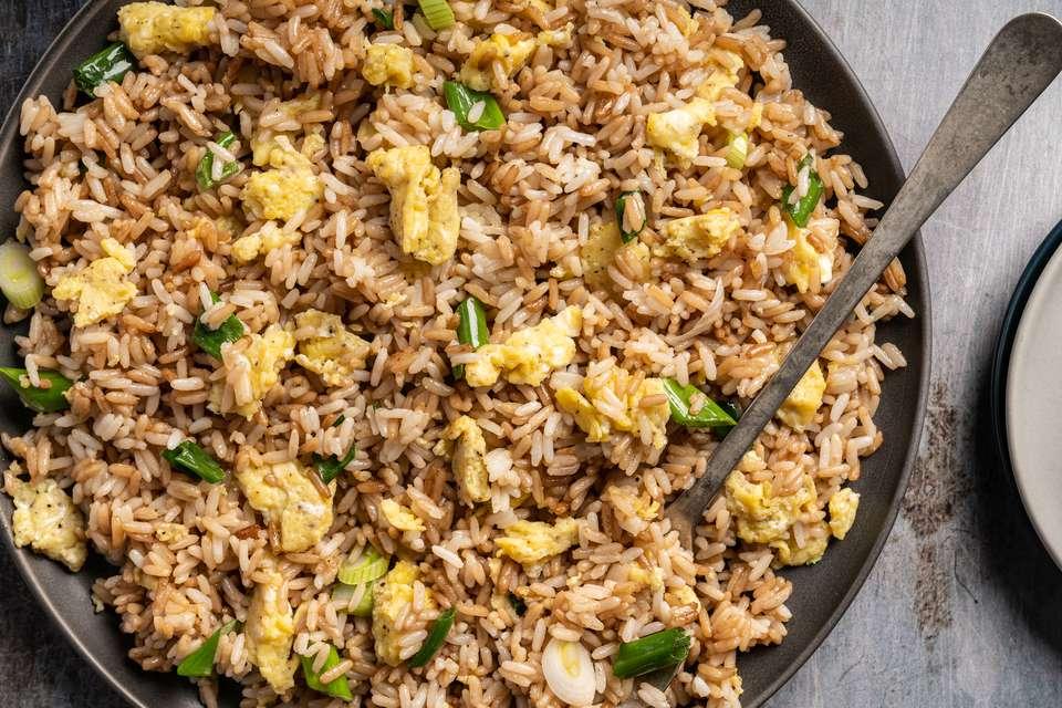 Basic Recipe for Fried Rice