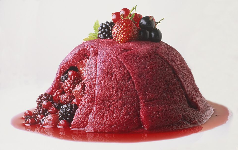 traditional summer pudding