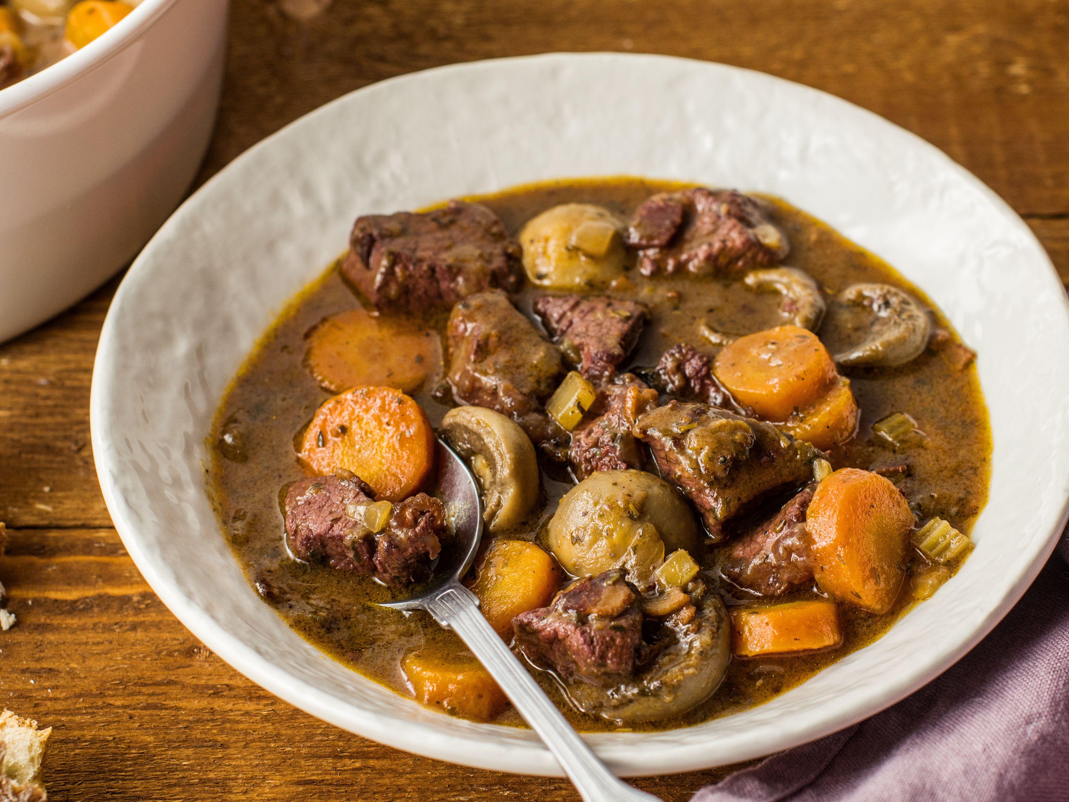 A Classic French Venison Stew Recipe