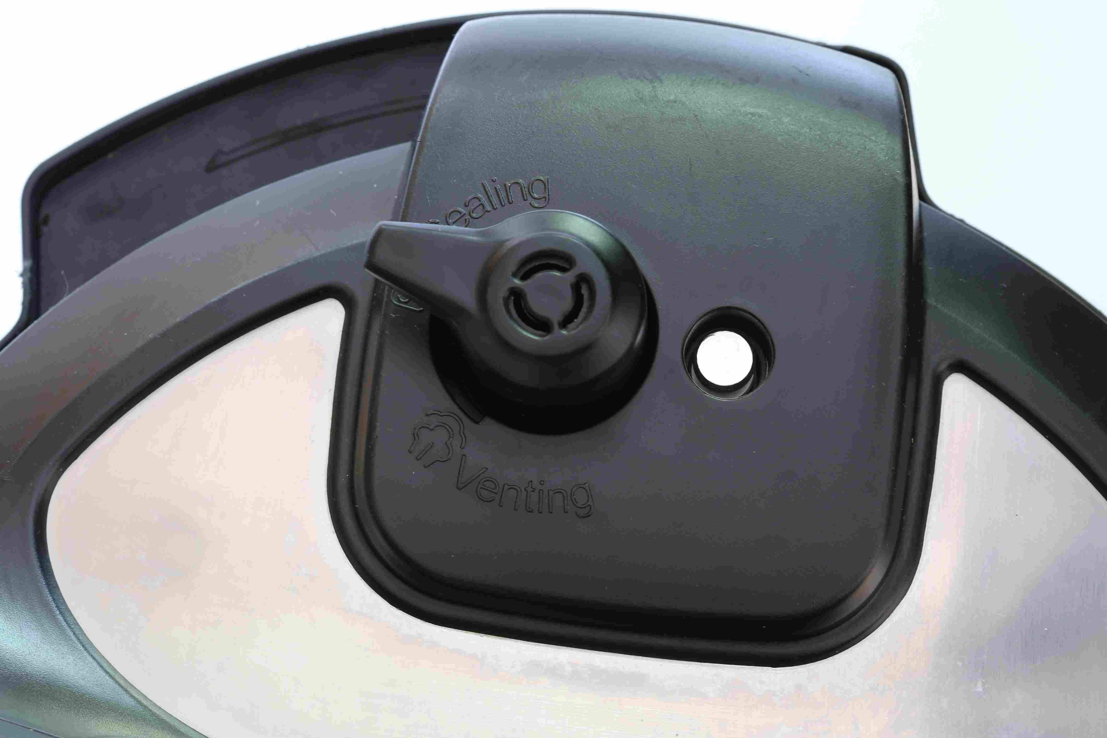 Set the knob to sealing.
