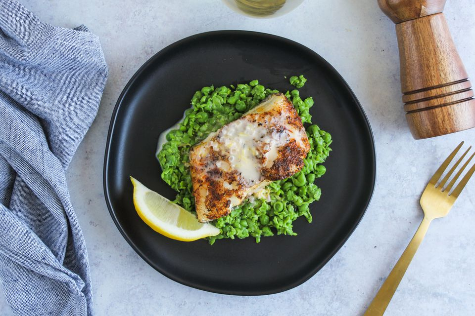 Baked Chilean sea bass recipe