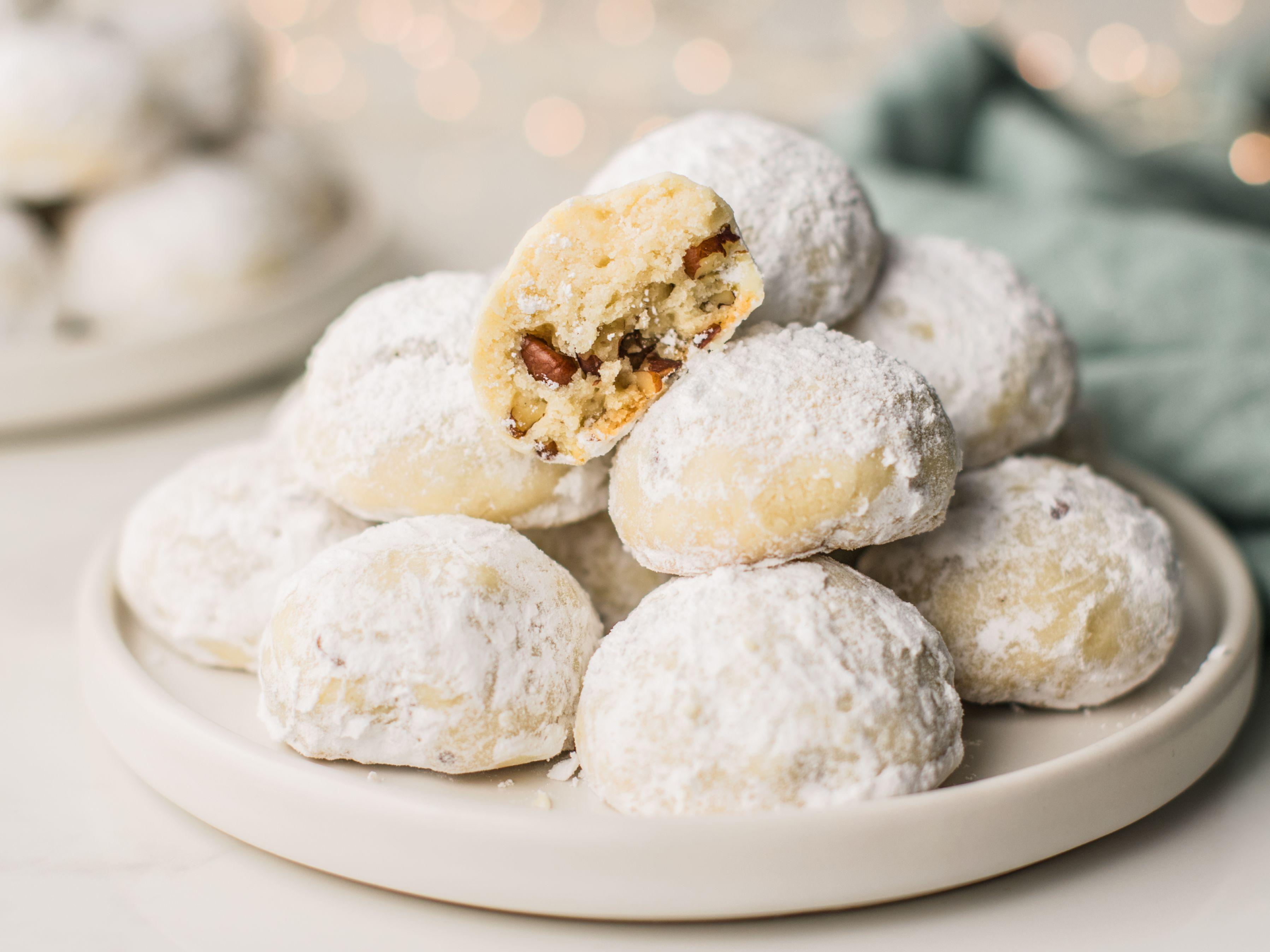 Polvorones Mexican Wedding Cookies Recipe