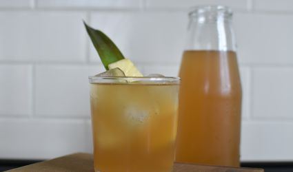 Pineapple Skin Tea