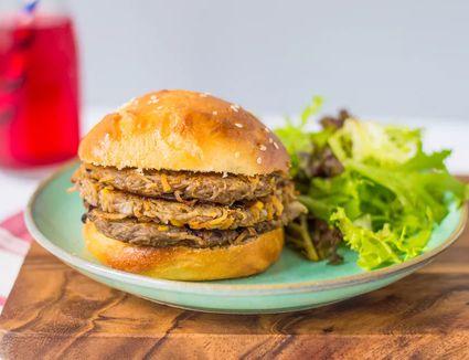 Potato Veggie Burger