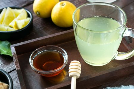 honey citrus mint tea