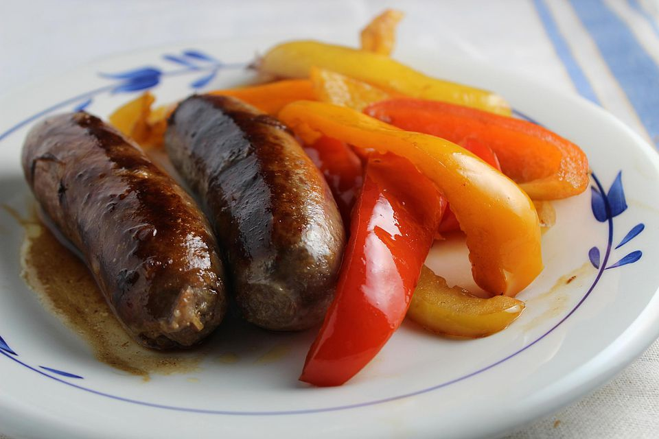 Classic Sausage and Peppers