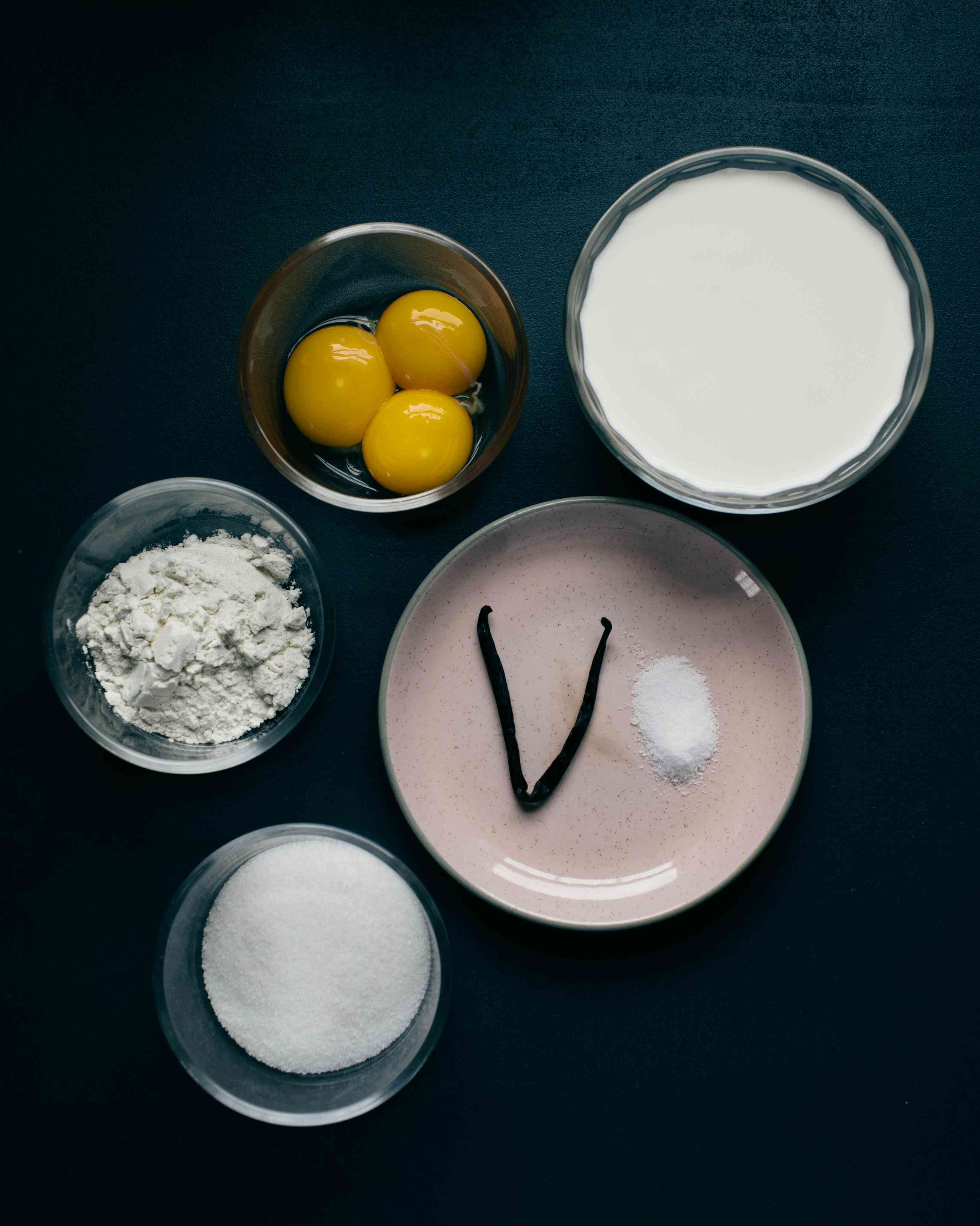 pastry cream ingredients eclair cake