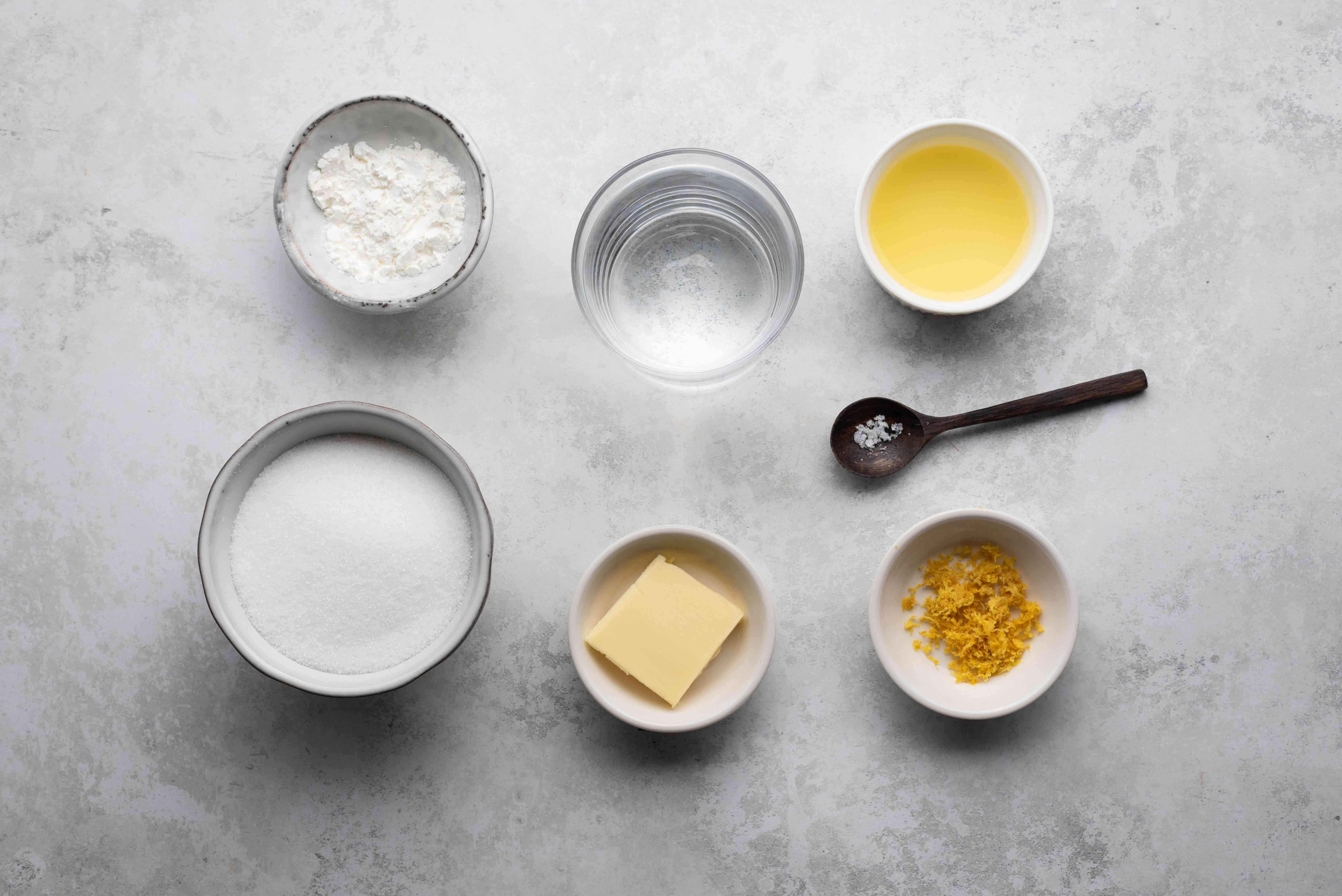 lemon sauce ingredients