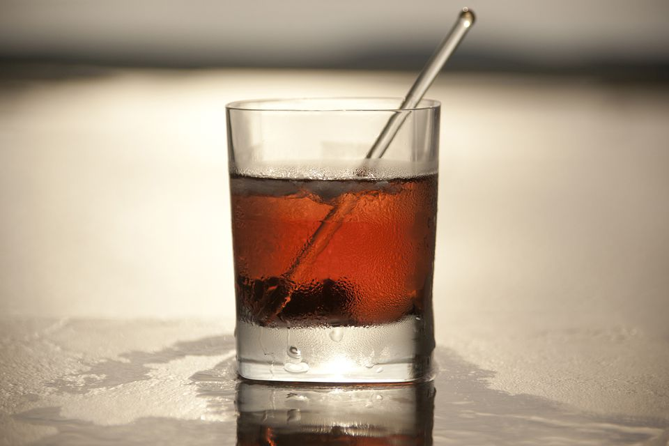 Bushmills Irish Whiskey's Black and Red Cocktail