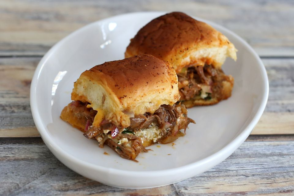Tex-Mex Taco Beef Sliders