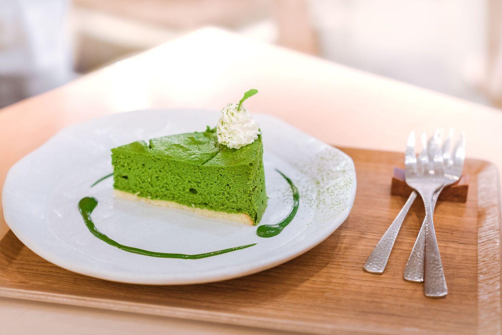 Matcha Green Tea Cheesecake