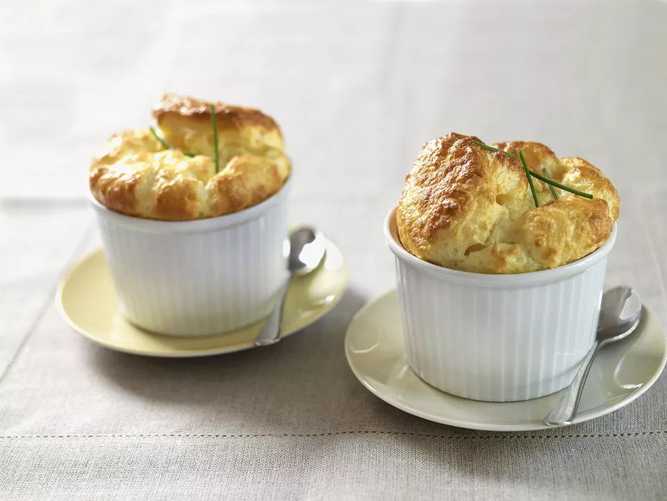Cheese and Leek Souffle