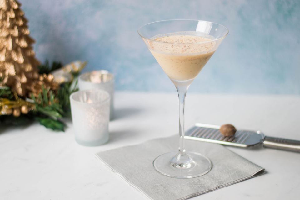 White Christmas Dream cocktail