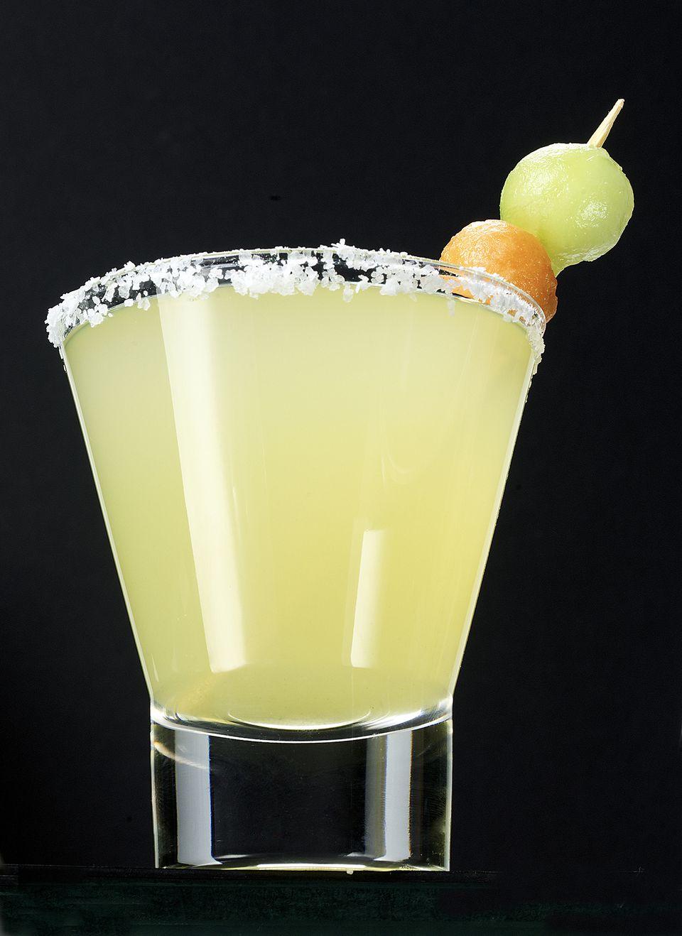 Melon Ball Drop Martini