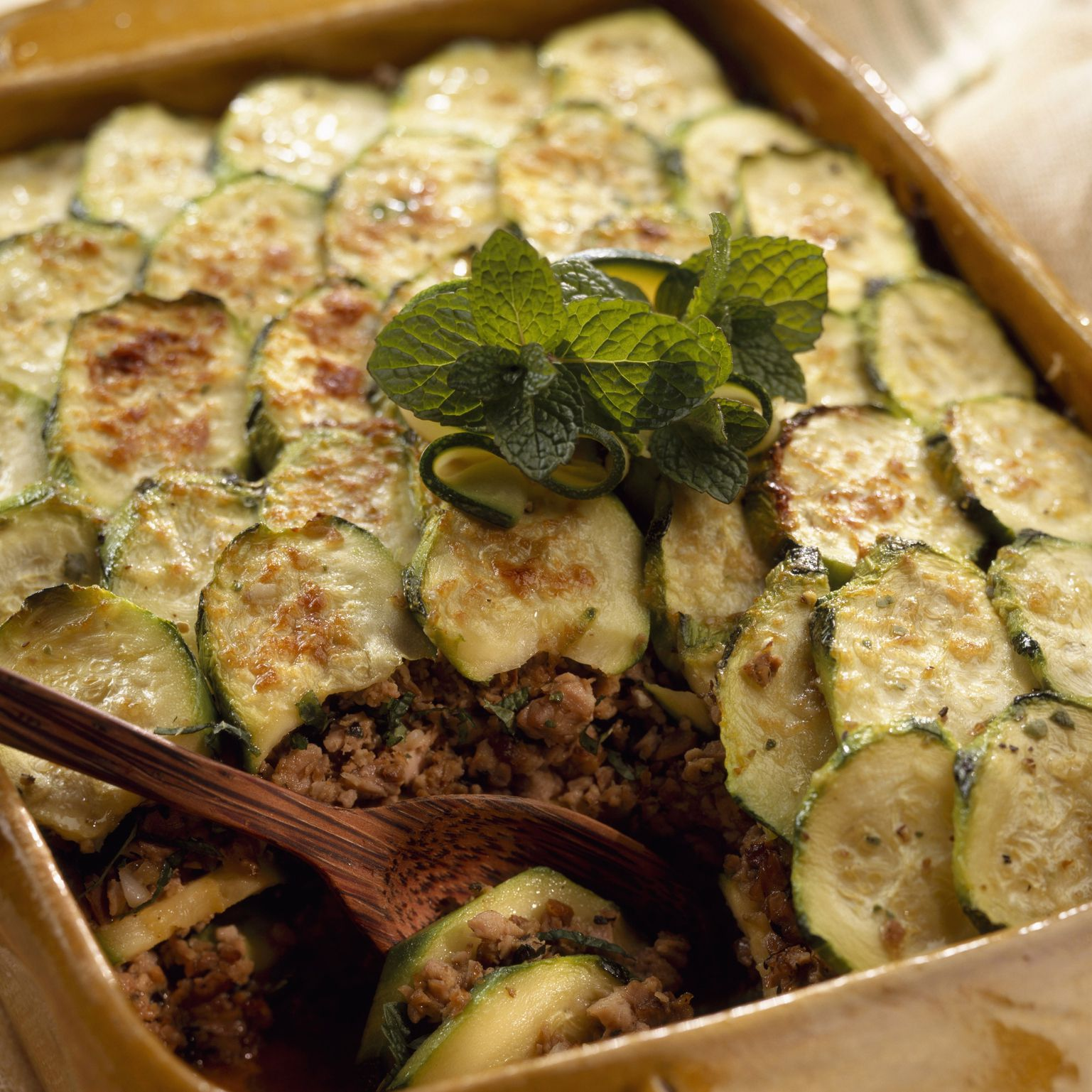 Greek Moussaka With Zucchini Recipe