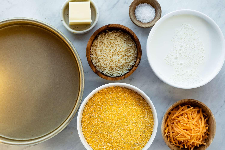 Creamy Polenta ingredients