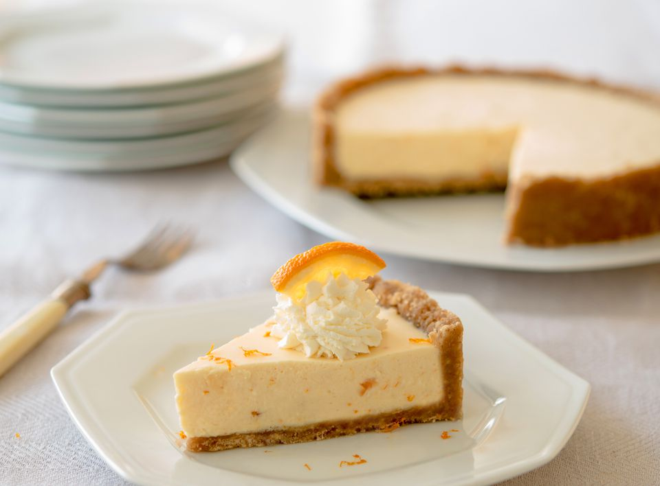 Orange Dreamsicle Pie