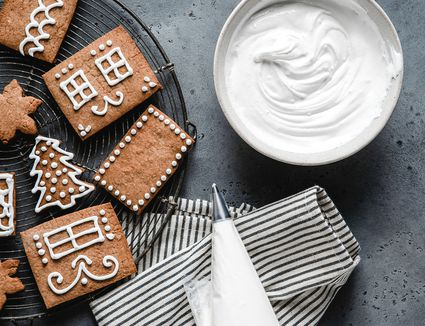 Royal Icing Recipe for Gingerbread House