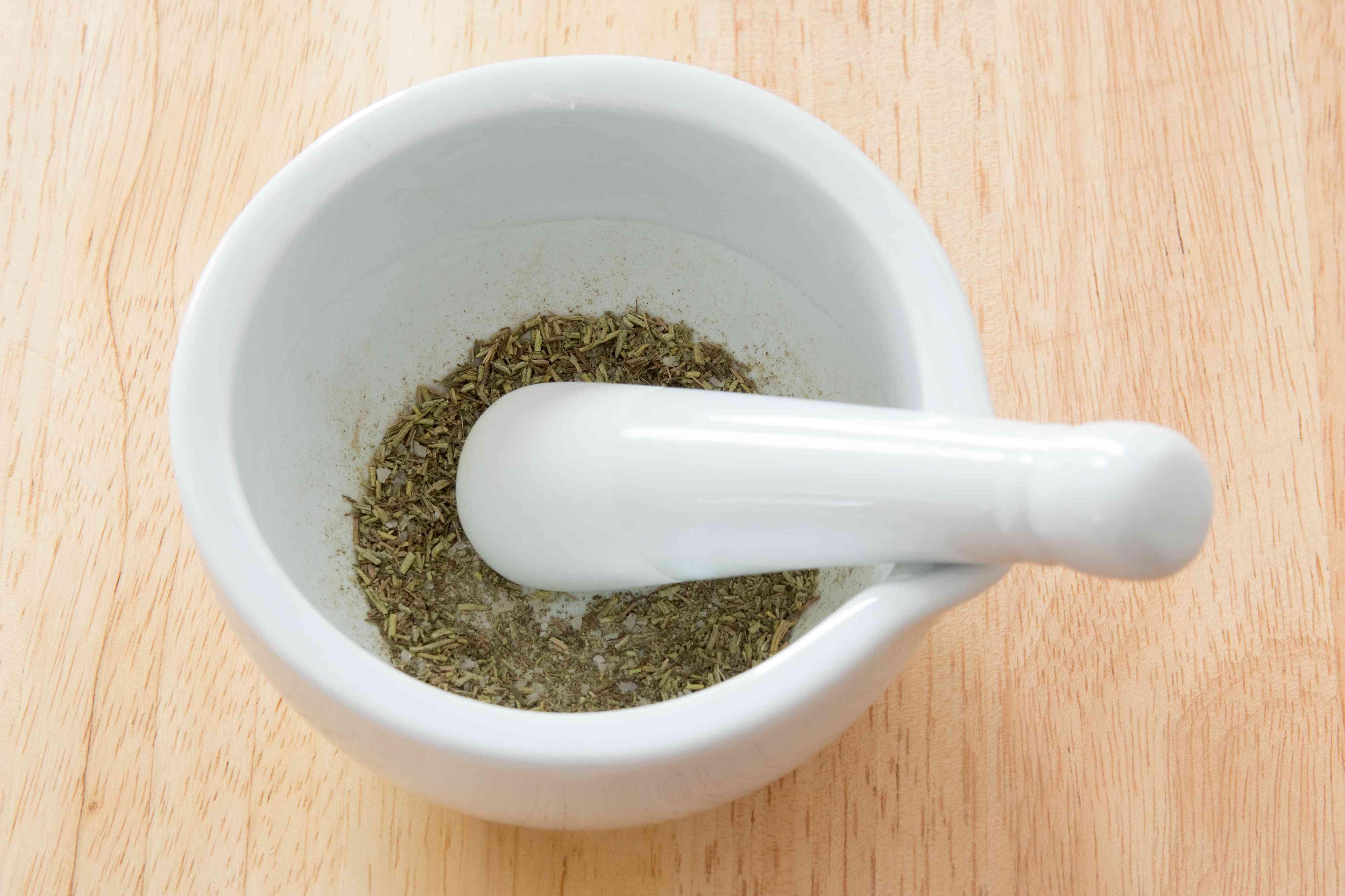 Rosemary-Thyme Salt for Irish Nachos
