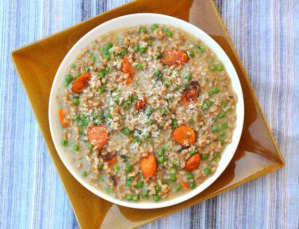 risotto in bowl