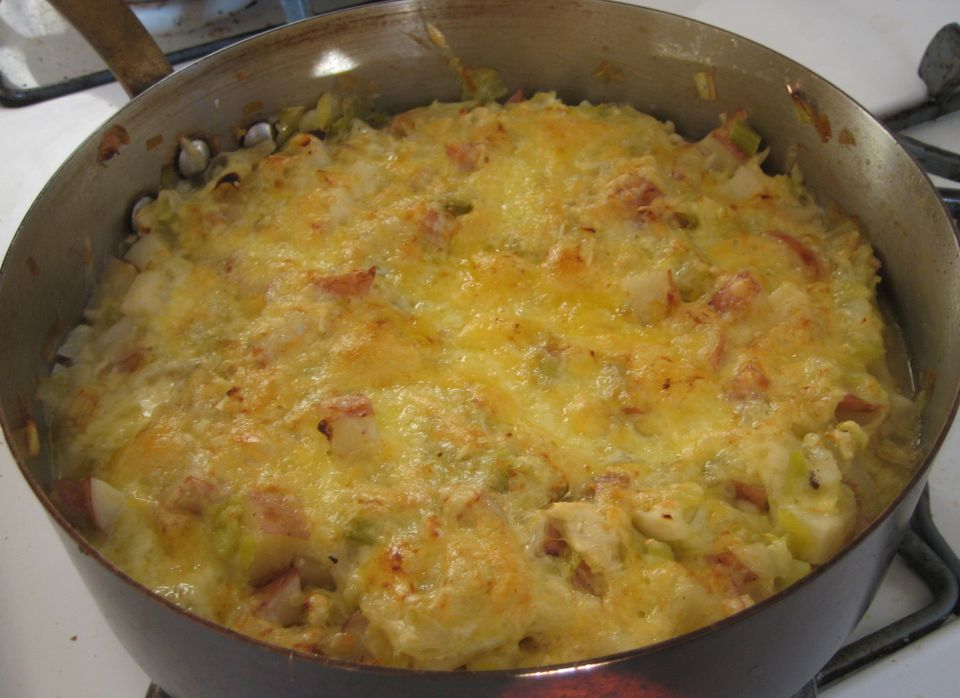 Potato Cabbage Casserole