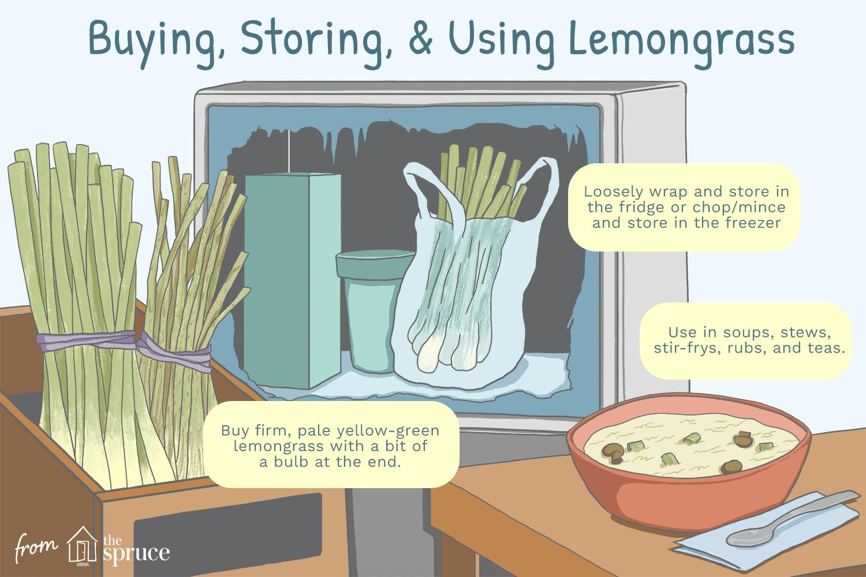 how to store lemongrass