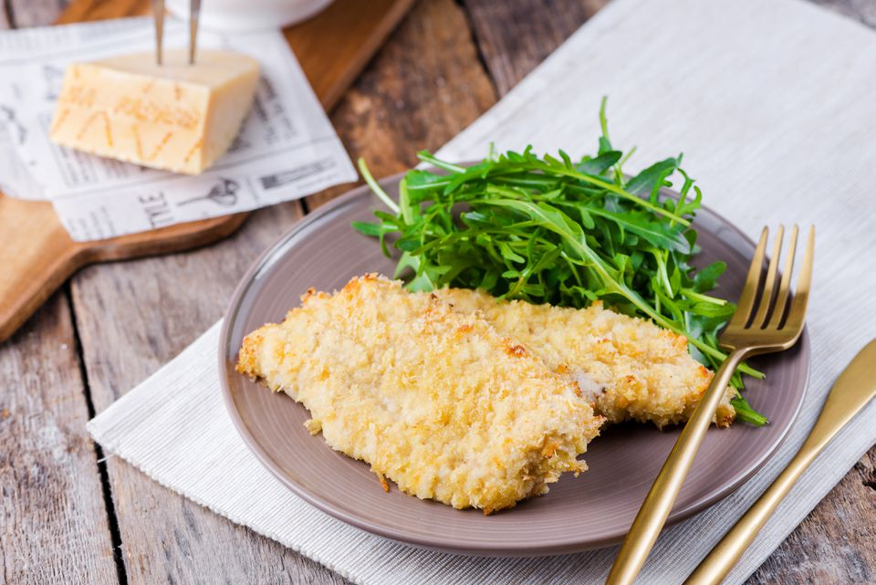 Baked turkey cutlets