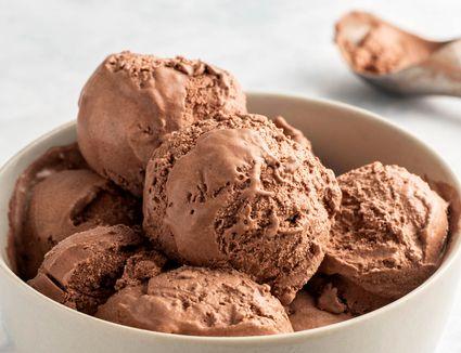 Easy chocolate ice cream recipe
