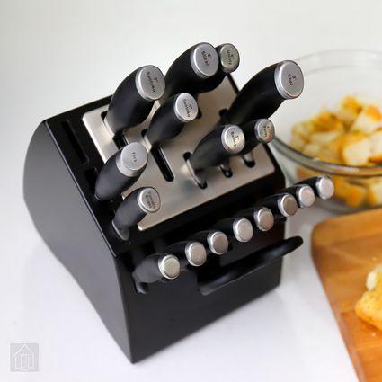 Calphalon Contemporary SharpIN 20-Piece Cutlery Set