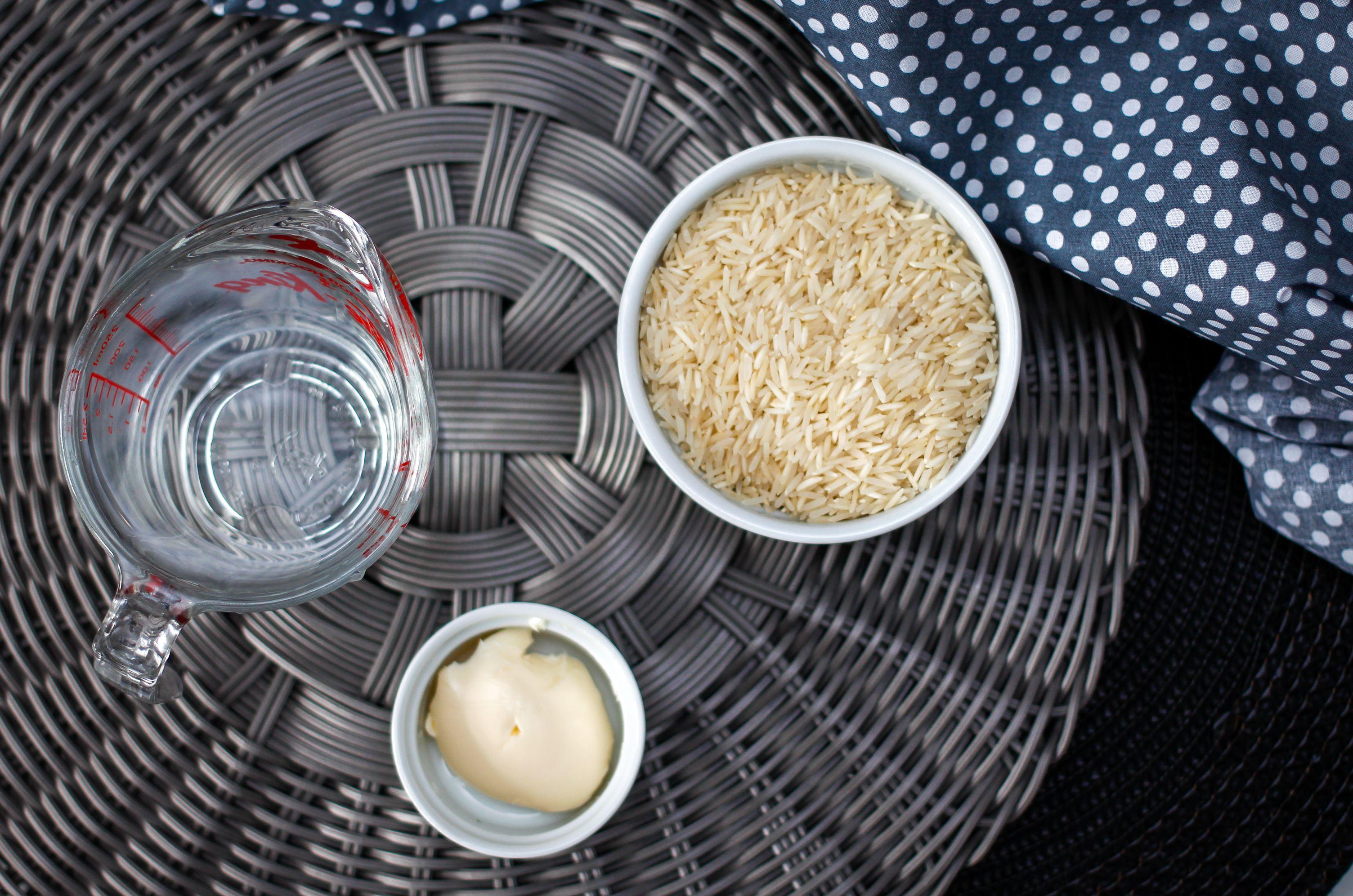 Ingredients for crock pot rice
