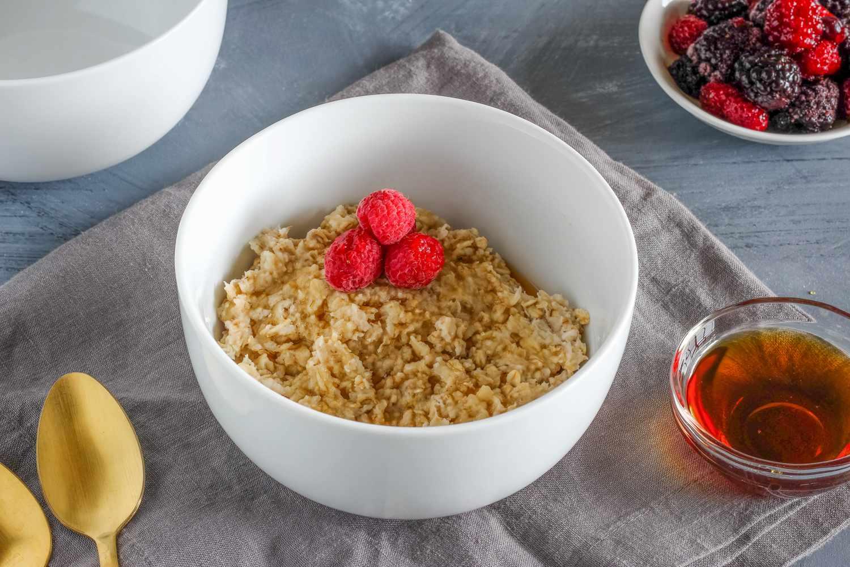 Traditional Scottish porridge recipe