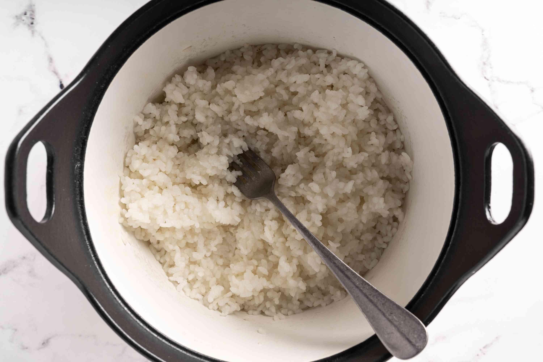 Korean-Style Rice on the Stove