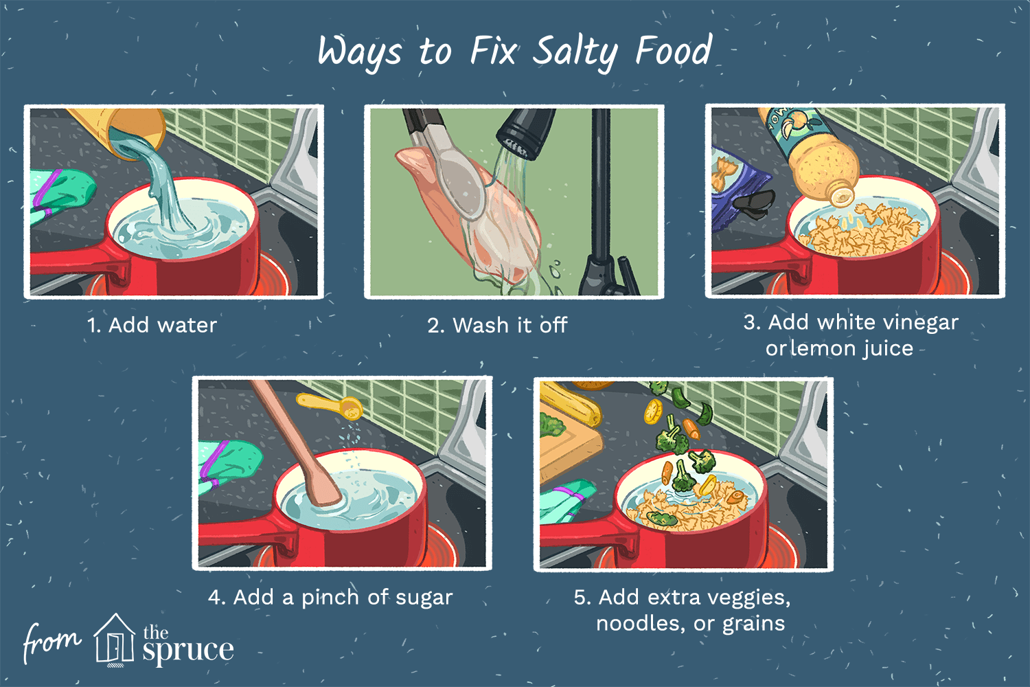 How to Fix a Recipe That's Too Salty