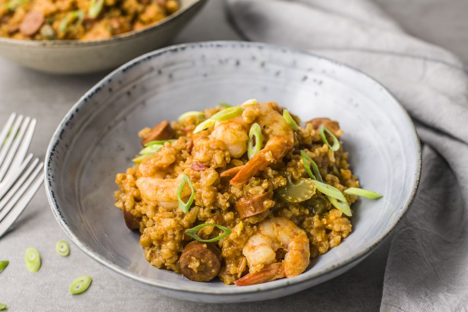 Sausage and shrimp jambalaya recipe
