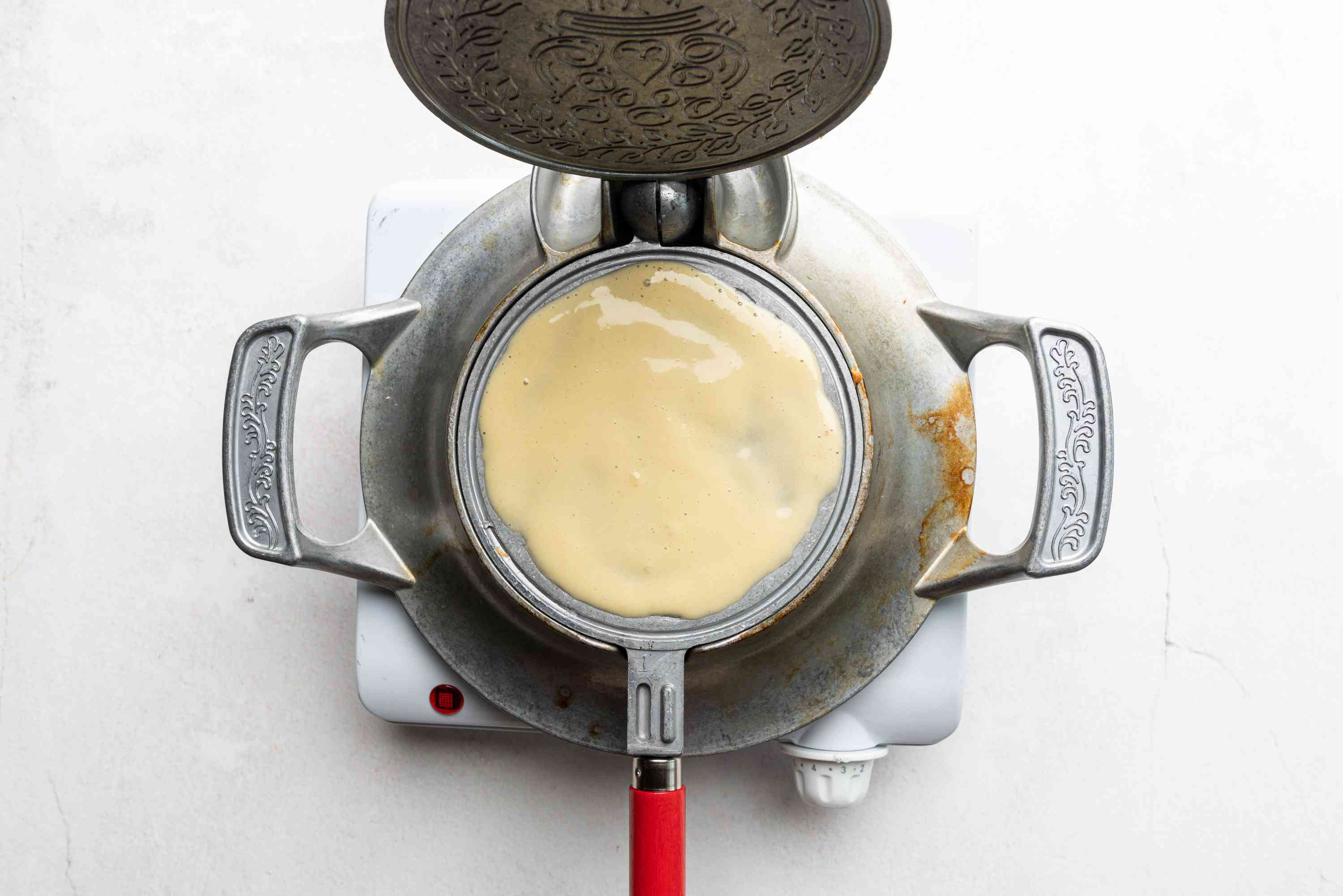 Polish Wafle Wafer Cookies cooking
